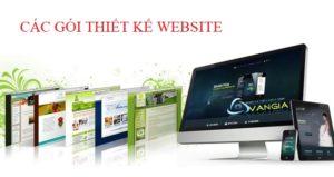 Các gói thiết kế website